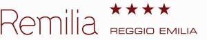 Logo rosso rettangolare